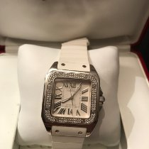 Cartier Santos 100 2881 Very good White gold 33mm Automatic