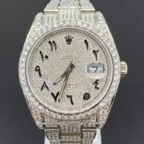 Rolex Datejust Stahl 41mm Grau Keine Ziffern Deutschland, Köln