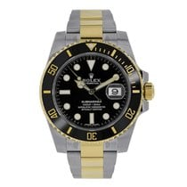 Rolex Submariner Date new 40mm Gold/Steel