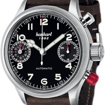 Hanhart Steel 45mm Automatic 730.210-0110 new
