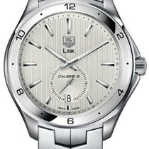 TAG Heuer Link Calibre 6 Steel 44mm Silver United States of America, New York, Brooklyn