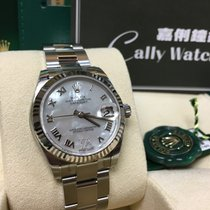 Rolex Cally -178274NRVI 31MM Mother of Pearl Dial VI Diamond...