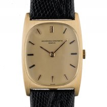Vacheron Constantin 18kt Gelbgold Handaufzug Armband Leder...