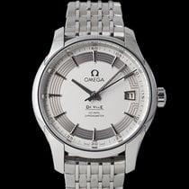 Omega De Ville Co-Axial Steel 41mm Silver