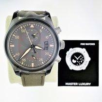 IWC IW388002, Pilot Chrngph, Top Gun Miramar, Green Dial, Cerami