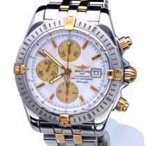 Breitling Chronomat Evolution Gold/Stahl 44mm Perlmutt Keine Ziffern