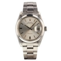 Rolex Air King Date Staal Zilver