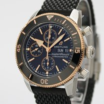 Breitling Superocean Héritage II Chronographe U13313121B1S1 New Gold/Steel 44mm Automatic
