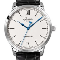 Glashütte Original Senator Excellence Steel 40mm Silver United Kingdom, Budapest