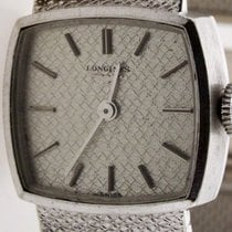 Longines White gold Manual winding pre-owned
