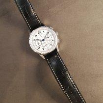 Longines Chronographe 41mm Remontage automatique nouveau Heritage (Submodel) Blanc