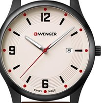 Wenger Steel 43mm Quartz 01.1441.124 new