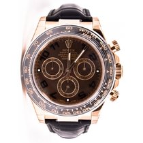 Rolex Rose gold Automatic 40mm pre-owned Daytona