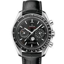 Omega Speedmaster Professional Moonwatch Moonphase Stahl Schwarz Schweiz, Zug