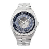 Vacheron Constantin Overseas World Time Steel 43mm Blue United States of America, California, Newport Beach