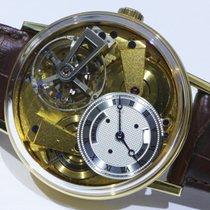 Breguet 41mm Handaufzug neu Tradition Gold