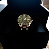 Hamilton Khaki Pilot Day Date Steel 42mm Black Arabic numerals United States of America, New York, Brooklyn