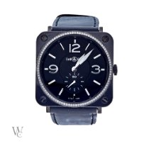 Bell & Ross Ceramic 39mm Quartz BRS-98-BCS pre-owned United Kingdom, London