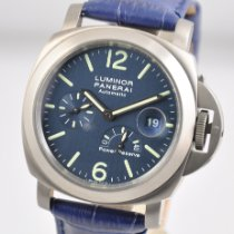 Panerai Luminor Power Reserve Titanium 44mm Blue Arabic numerals United States of America, Ohio, Mason
