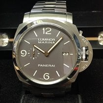 Panerai Luminor Marina 1950 3 Days Automatic folosit 44mm Maron Data Titan