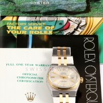 Rolex Datejust Oysterquartz Gold/Steel 36mm Silver No numerals United States of America, California, Los Angeles