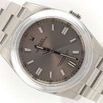 Rolex Oyster Perpetual 36 Acciaio 36mm Argento Arabo