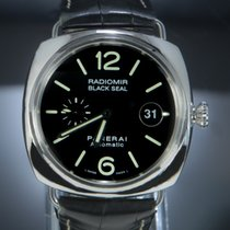 Panerai Radiomir Black Seal Pam 287 Bardzo dobry Stal 45mm Automatyczny