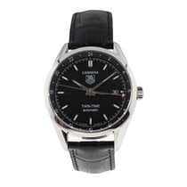 TAG Heuer Wv2115-0 Steel Carrera Calibre 7 38.5mm pre-owned