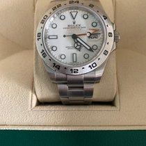 Rolex Explorer II Acier 42mm Blanc Sans chiffres France, cagnes sur mer