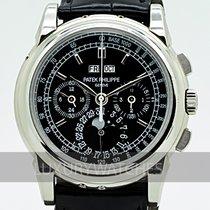 Patek Philippe Perpetual Calendar Chronograph Platina 40mm Fekete