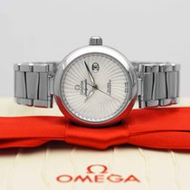 Omega De Ville Ladymatic Staal 34mm Parelmoer Geen cijfers