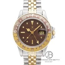 Rolex GMT-Master pre-owned 40mm GMT Gold/Steel
