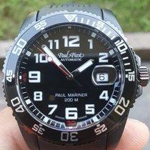 Paul Picot Paul Mariner III Acero 42mm Negro Árabes