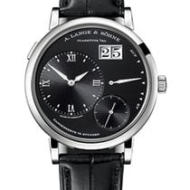 A. Lange & Söhne White gold Manual winding Black Roman numerals new Grand Lange 1