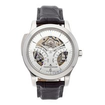 Jaeger-LeCoultre Master Minute Repeater Platino 43mm Plata Árabes
