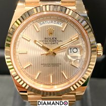 Rolex Rose gold Automatic Pink 40mm new Day-Date 40