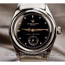 Rolex Stahl 31.5mm Schwarz