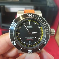 Oris Aquis Depth Gauge 01 733 7675 4154-Set 2014 pre-owned