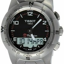 Tissot T-Touch II Titanium 43mm Black Arabic numerals United States of America, New Jersey, Somerset