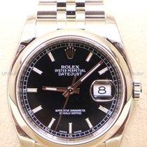 Rolex Datejust, Ref. 116200 - schwarz Index/Jubileeband
