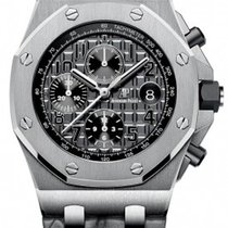 Audemars Piguet Royal Oak Offshore Chronograph Staal 42mm Grijs Arabisch