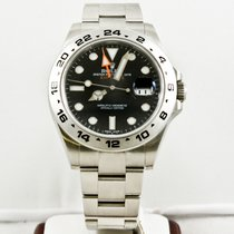 Rolex Explorer II 216570 Veldig bra Stål 42mm Automatisk