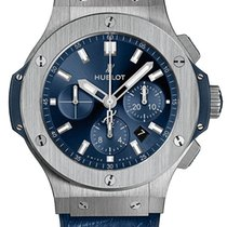 Hublot Big Bang 44 mm Steel 44mm Blue United States of America, New York, Airmont