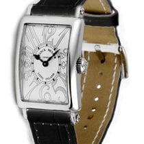 Franck Muller 902 Relief Quartz Watch with White Dial