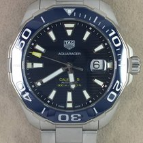 TAG Heuer Aquaracer 300M Steel 43,00mm Blue No numerals