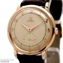 Omega Vintage Gentlemans Watch Ref-2659 18k Rose Gold Bj-1949