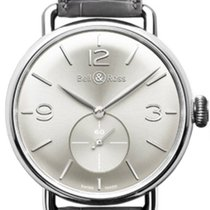 Bell & Ross Vintage WW1 Argentium Silver, BRWW1-ME-AG-SI-SCR