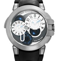 Harry Winston 44mm Automatic 2014 pre-owned Ocean Grey