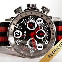 B.R.M V12 Red Chronograph Automatic - Box & inhouse certificate