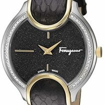 Salvatore Ferragamo Gold/Steel Quartz FIZ090015 new
